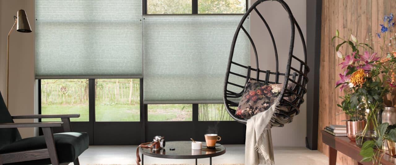 Duette gardiner för ljus och insynsskydd